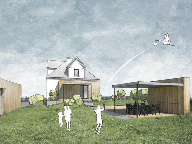 rekonstrukce rodinného domu KARVINÁ