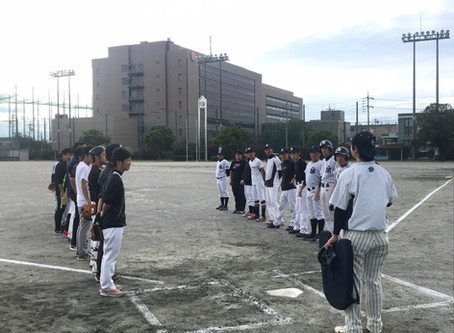 社内野球大会!
