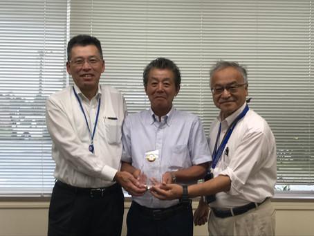 豊田合成㈱ 隅田専務理事・小笠原執行役員にご来社頂きました。