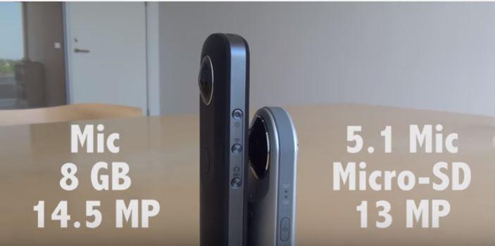 Theta S vs LG 360