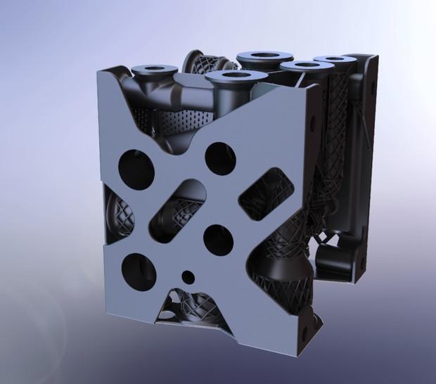 MANIFOLD 3D PRINTED pic.5