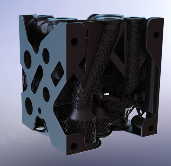 MANIFOLD 3D PRINTED pic.4