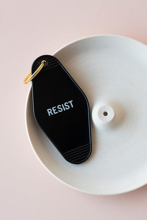 RESIST - HOTEL KEY FOB