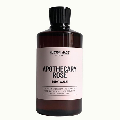 APOTHECARY ROSE BODY WASH