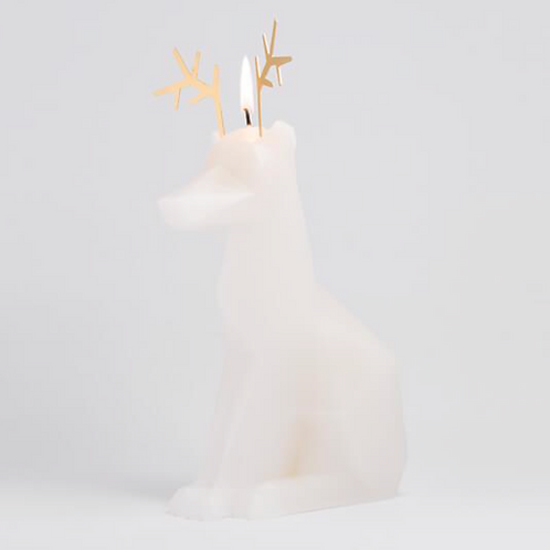SKELETON DEER CANDLE