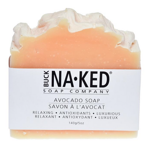 AVOCADO SOAP BY BUCK NAKED