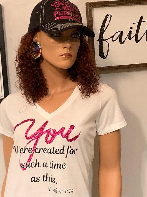 T-shirt/Cap Combo - Black/Pink & YOU