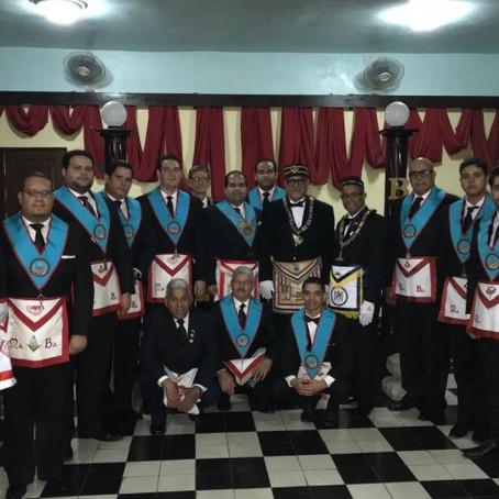 GLRD comparte trabajos masónicos en Caballeros de la Patria