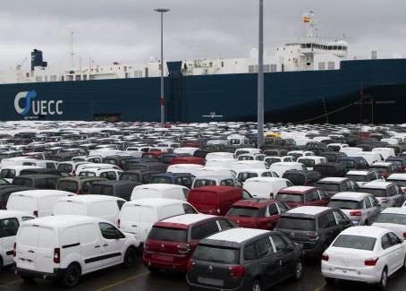 El frenazo de la economía europea lastra las exportaciones españolas