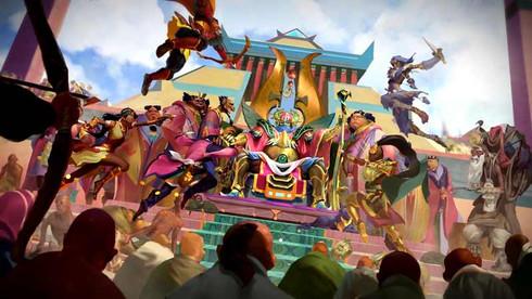 "RUNESCAPE | ""THE GOLDEN CITY OF MENAPHOS"" TRAILER"