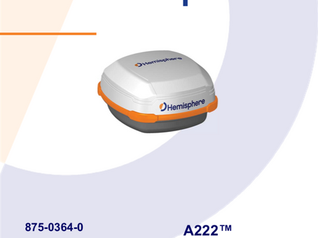 コンパクト1周波GNSS受信機(一体型) A222 新登場!