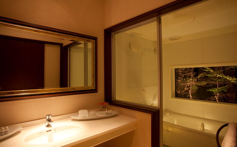オーベルジュ テラ 浴室