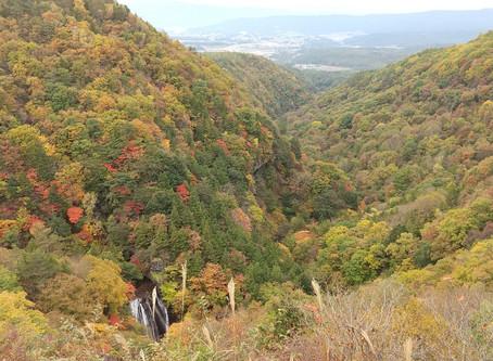 横谷観音展望台からの眺め最高です