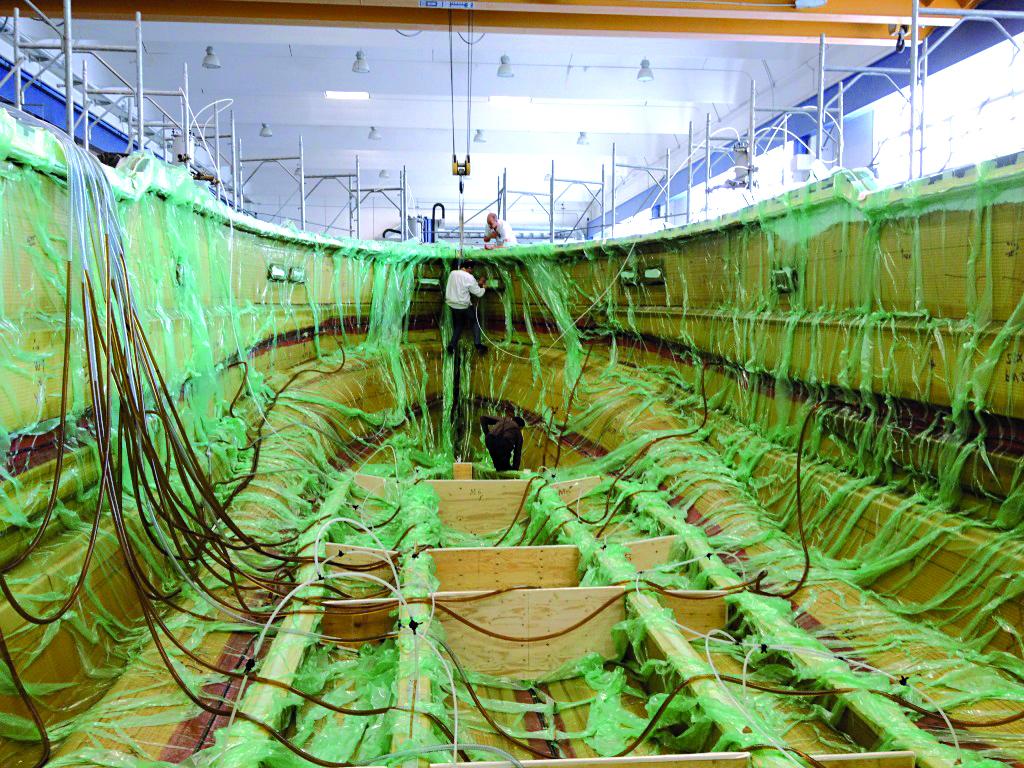 7 - Infusione Scafo 18 metri