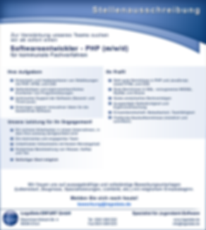 Softwareentwickler PHP (m/w/d)