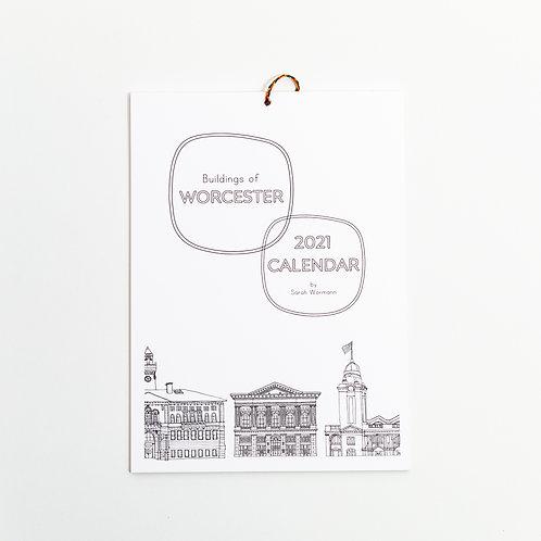 Buildings of Worcester 2021 Calendar