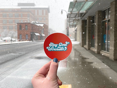 Stay Cool Worcester Sticker