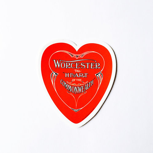 Heart of the Commonwealth Sticker