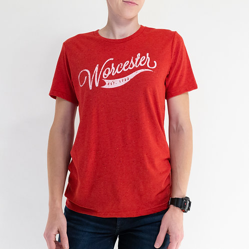 Red Flecked Worcester 1722 T-Shirt