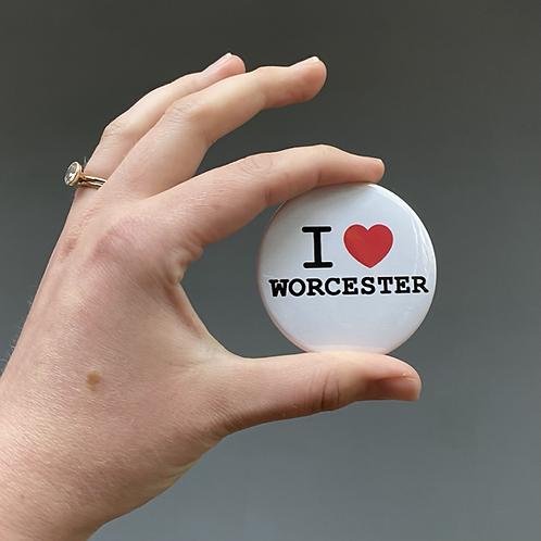 I ♥ Worcester Bottle Opener & Magnet