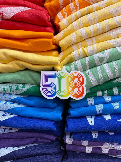 508 mini Sticker