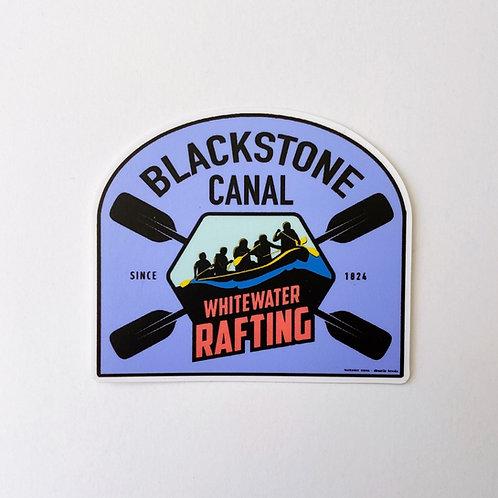 Blackstone Canal: Whitewater Rafting Sticker