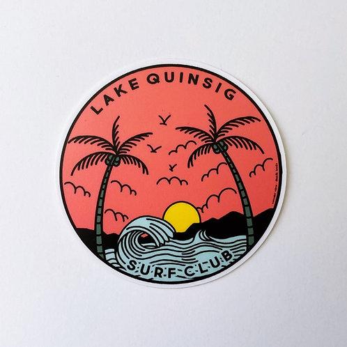Lake Quinsig: Surf Club Sticker
