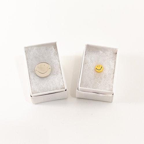 Smiley Lapel Pin