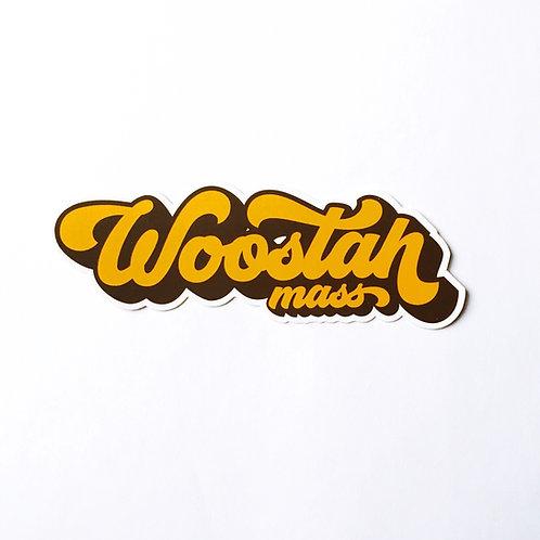 Woostah Sticker