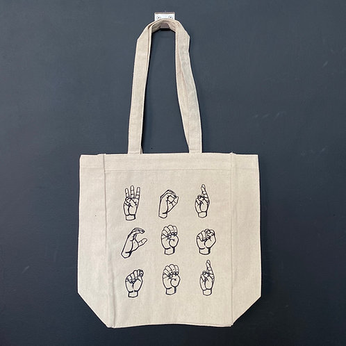 Sign Language Tote