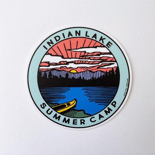 Indian Lake: Summer Camp Sticker