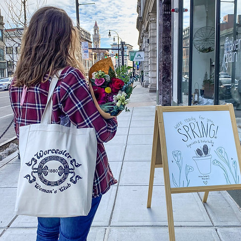 Worcester Woman's Club Tote