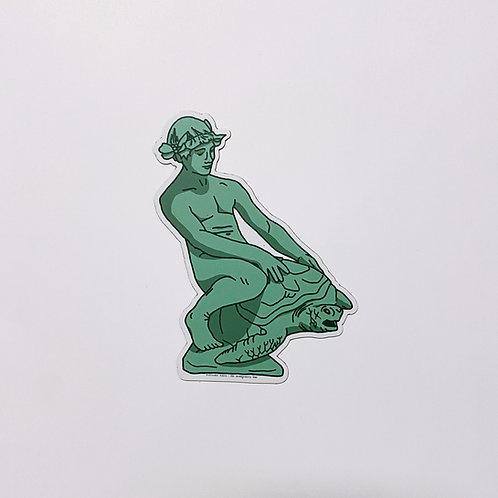 Turtleboy Sticker