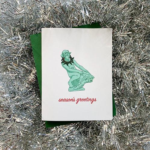 Turtleboy Season's Greetings Card