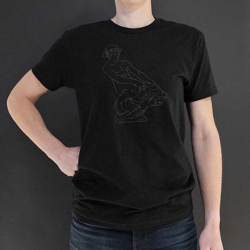 Turtleboy Black on Black T-Shirt