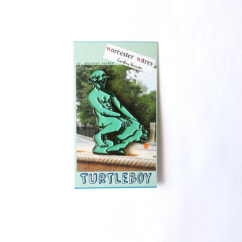Large Turtleboy Enamel Pin