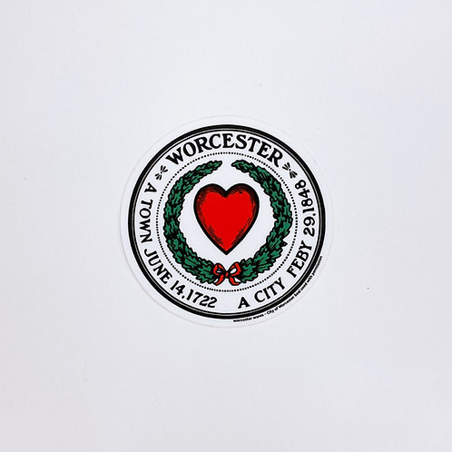 Official City Seal Sticker