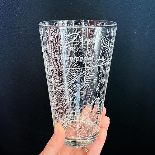 Worcester Pint Glass