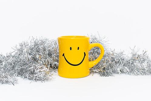 Smiley Diner Mug