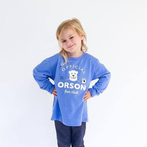 Orson Fan Club Toddler Long Sleeve Shirt