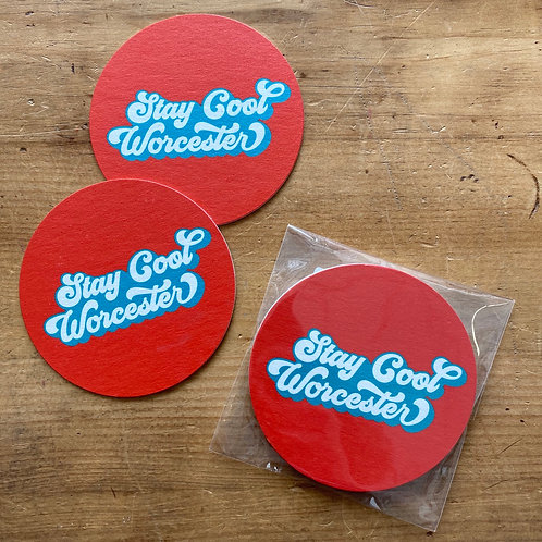 Stay Cool Coasters (4 pack)