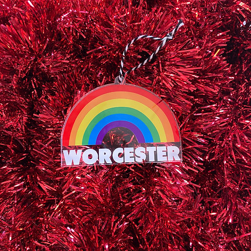 Rainbow Ornament