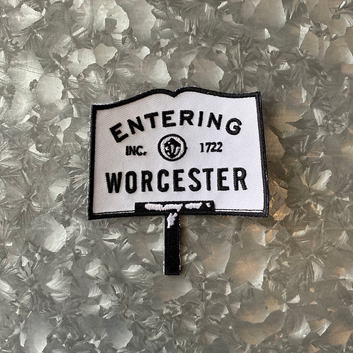 Entering Worcester Patch