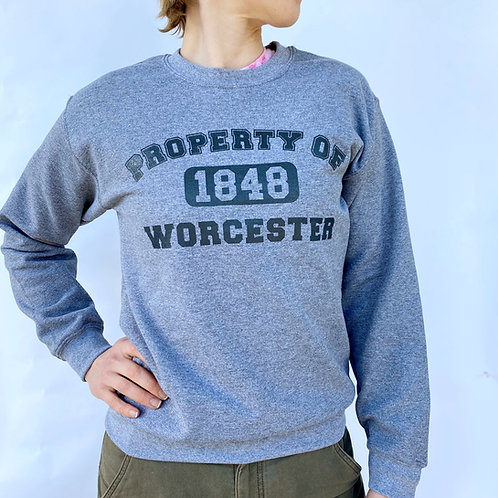 Property of Worcester Crewneck Sweatshirt