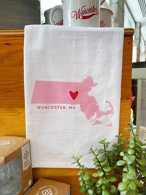 Worcester Tea Towel