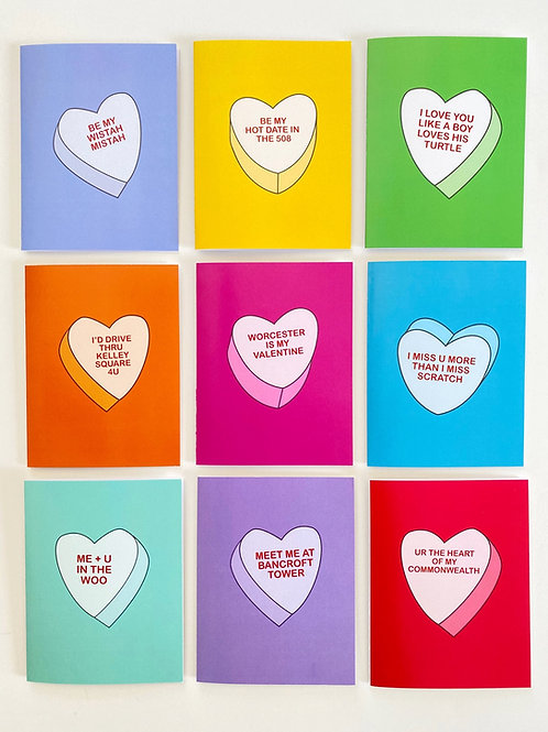 Candy Heart Cards