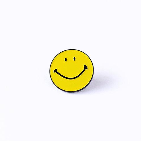 Smiley Enamel Pin