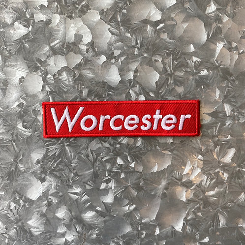 Worcester Red Box Patch