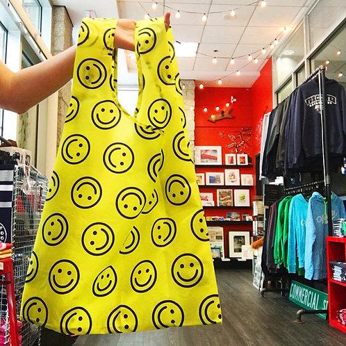 Smiley Reusable Shopping Bag