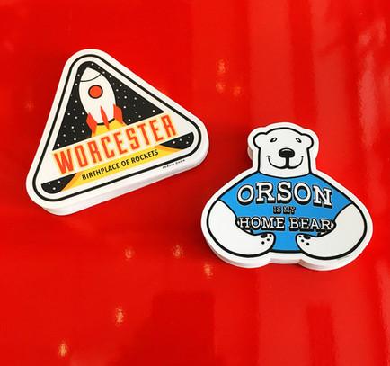 Travis Sticker Designs